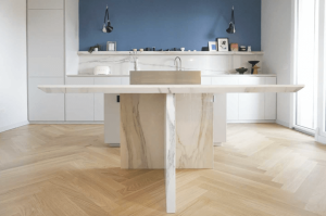 Calacatta Gold Kitchen 1