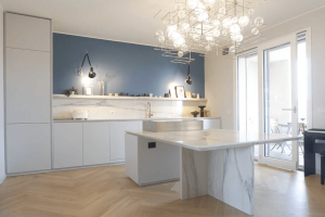 Calacatta Gold Kitchen 6